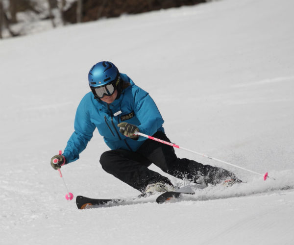 Spring skiing in Hakuba