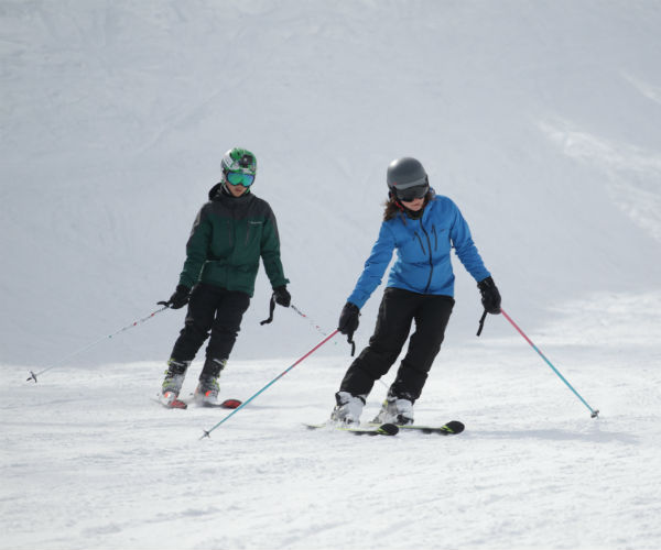 5 top tips for the nervous skier