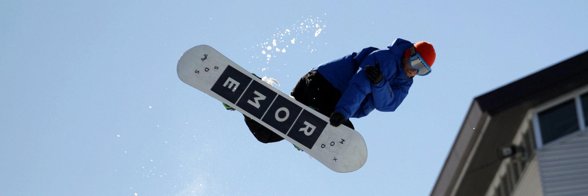 freestyle snowboarding in hakuba