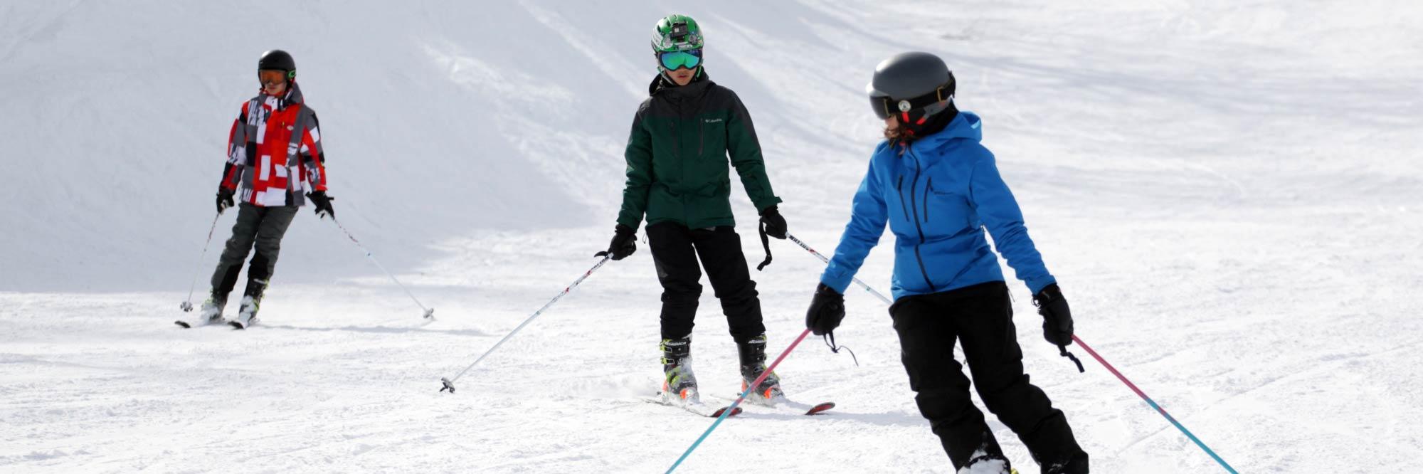 meet at the mountain ski lessons in hakuba