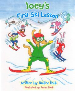 Joeys First Ski Lesson Childrens Book for Skiiin